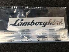 LAMBORGHINI HURACAN OEM NEW REAR SCRIPT EMBLEM OEM 4T0853742 400853742, 40085374