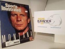 1990 August Sports Illustrated Magazine Joe Montana