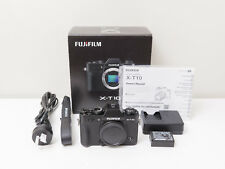 Fujifilm X-T10 16.3 MP Fuji Digital Camera Body Only ~Excellent ~$475 with code