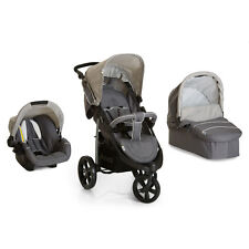 hauck Viper SLX Trio Set (black) 3in1 Travel System 3 Wheeler Jogger
