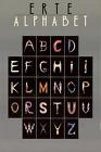 ERTE Alphabet SIGNED 36 x 24 Offset Lithograph 1977 Art Deco Multicolor, Gray