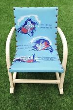Vintage Child's/Doll's Rock-a-by-Baby Rocking Chair