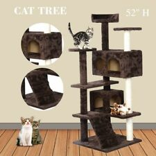 Cat Tree Tower Condo Furniture Scratch Post Kitty Pet House Play Coffee New