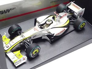 MINICHAMPS 1:18 BRAWN GP BGP 001 J. BUTTON WINNER BRAZIL GP 2009