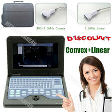 CMS600P2 Ultrasound scanner,ecografo digitale+2 sonde lineare/Convex 3Y Garanzia