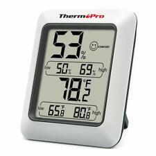 LCD Indoor Digital Hygrometer Thermometer Temperature Humidity Monitor Meter