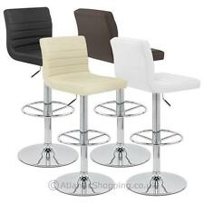 Faux Leather Contemporary Stools & Breakfast Bars