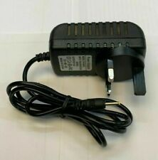 UK 3 Pin Plug 5v DC 1a Cable Adapter Power Supply *