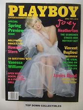 Playboy Magazine   April  1997    Kelly Monaco POTM--General Hospital