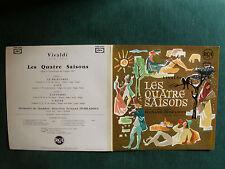 VIVALDI, QUATRE SAISONS / FERNAND OUBRADOUS ROBERT GENDRE LP GATEFOLD RCA 600003