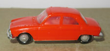 D old made in france 1966 micro norev oh 1/87 peugeot 204 orange #532