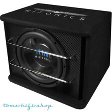 HIFONICS TS-250R 600 Watt Bassreflex Auto Subwoofer 25cm Carbonlook PKW Bassbox