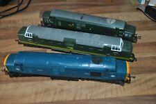 00 gauge Group of 3 Diesel Locomotives - Tri-ang & Lima