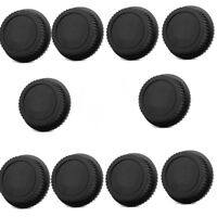 10x Rear Lens Cap Dust Cover for Canon EF ES-S EOS Series Lens Black with Brand