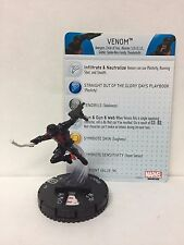 Marvel HeroClix Venom 034 Figure w/ Card D03