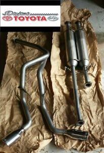 OEM TOYOTA TUNDRA TRD PERFOMANCE DUAL EXHAUST SYSTEM & TRD TAILPIPE KIT