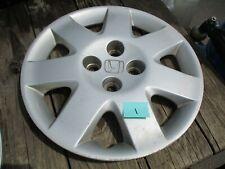 """2001-2002 Honda Civic 15"""" Hubcap OEM Hollander # 5051 #1"""