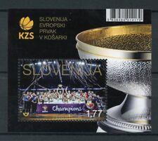 Slovénie 2017 neuf sans charnière European Basketball champions 1 V M/S Sports timbres