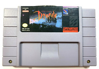 Bram Stoker's Dracula - SNES Super Nintendo Game - Tested - Working - Authentic