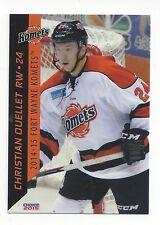 2014-15 Fort Wayne Komets (ECHL) Christian Ouellet (Blue Devils Weiden)