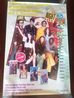 SATURDAY NIGHT LIVE 15th Anniversary Video Store VHS Poster Rolled RARE