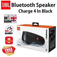 JBL Charge 4 Portable Waterproof Wireless Bluetooth Speakers in Black ^