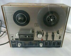 AKAI MODEL 4000DS MAGNETOPHONE A BANDES ancien vintage bande musique  G