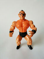 Rare BOOTLEG HE MAN PATCH WRESTLER Mannix Sungold MOTU Vintage Figure GOOD COND