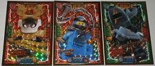 Lego Ninjago Serie 4 ! 3 LE Karten Trading Card Game  LE 6 , LE 7 und LE 23 NEU