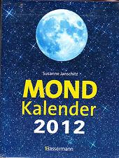 Janschitz, Susanne – Mond Kalender 2012 – Mondkalender – ovp - rar