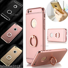Aluminum Metal Ring Holder Stand Case Cover For iPhone 8 7 Plus 6/6s Plus