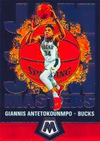Giannis Antetokounmpo 2019-20 NBA PANINI MOSAIC JAM MASTERS Insert Card 19 Bucks
