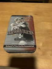 Upper Deck 2001 Tiger Woods Collection Tin Opened Complete Set