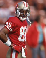 San Francisco 49ers JERRY RICE Glossy 8x10 Photo Football Print Poster HOF 2010