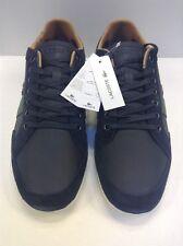 Lacoste Alisos 20 Leather Casual Sneaker Black Men's 10 US $145 NIB New 7-28SRM