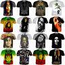Women Men Print Summer Short Sleeve Shirts Tops Tee Bob marley Casual 3D T-Shirt