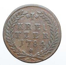 MAGMA Salzburg Hieronymus Colloredo Kreuzer 1784  ss ++