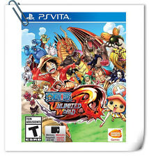 PSV One Piece: Unlimited World Red SONY VITA Action Games Bandai Namco