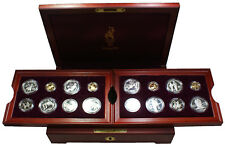 1996 Atlanta Olympics 16 Proof Gold & Silver Coin Set with Original Box & COA