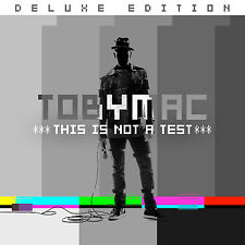 This is Not a Test - TobyMac (DELUXE EDITION, CD, 2015, Capitol) - FREE SHIPPING