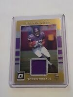 2017 Panini Donruss Optic Dalvin Cook Rookie Threads Jersey Relic