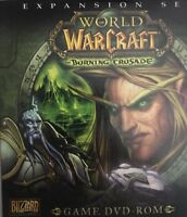 EXPANSION SET WORLD OF WARCRAFT THE BURNING CRUSADE FOR PC DVD ROM-RARE VINTAGE