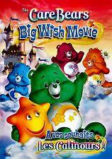 NEW DVD -  CHILDREN - The Care Bears: Big Wish Movie --  75min