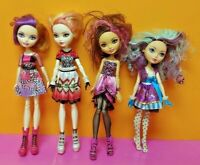 4 Ever After High Doll Apple White Madeline Briar 1st Chapter Clothes Lot # 5