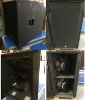 100% Puro Design AS-820 + BS-820 / 1 Top + 1 Subwoofer passivo Made in Italy