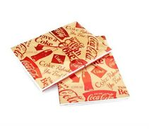 Coca Cola 4 Pk 80 Page Flex Journals Blank Diary Markings CR Gibson 2 Sets