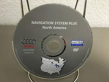2005 2006 2007 Audi Navigation System Plus Disc Version 1A P/N W531247003