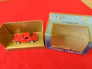 ERTL '61 FERRARI SWB  Classic Vehicles Authentic Die Cast Metal replica 1:43