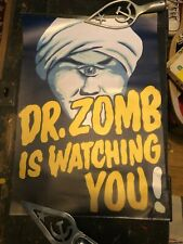 More details for  unique reproduction a2 'dr zomb is watching you' poster