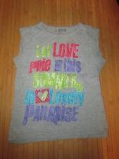 Tee-shirt Gris à motif,MC,T8ans,marque Eldys,en TBE